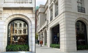 Large Glass Storefront Design