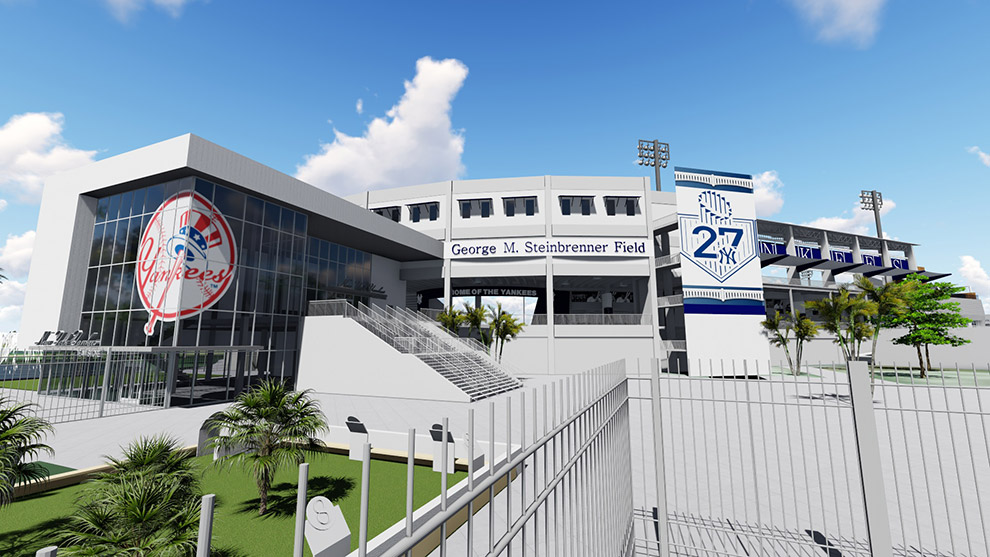George M. Steinbrenner Field Curtain Wall by JEI Structural Engineering