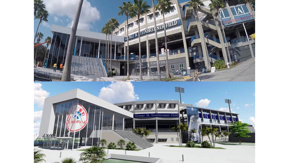 George M. Steinbrenner Field - Glass Wall by JEI Structural Engineering