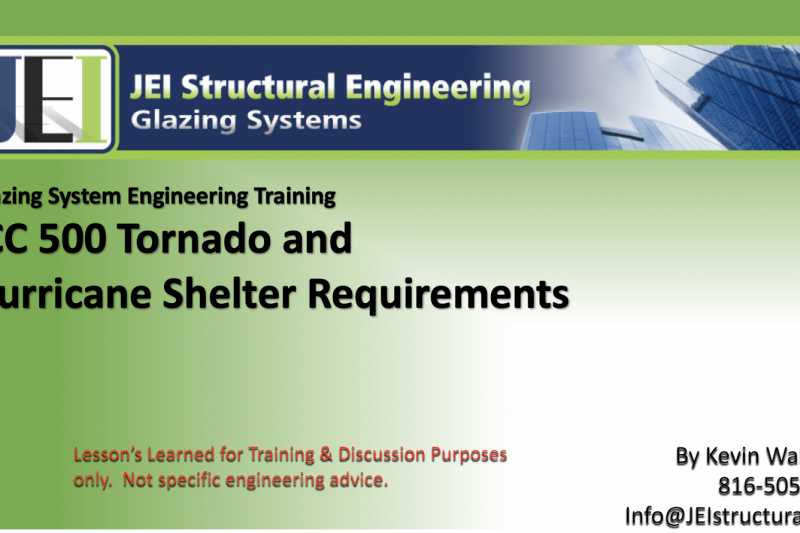 JEI Structural Engineering | Glass Industry News, Read Now!
